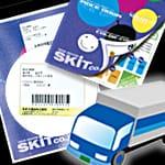 圧着ハガキ往復 モノクロ印刷+宛名印字+広告郵便 コミコミパック 中5日